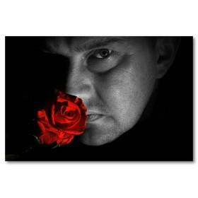 Αφίσα (μαύρο, λευκό, άσπρο, κόκκινος, άνθρωπος)